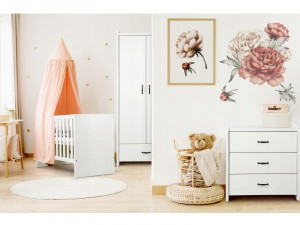 Mobilier Camera copii Si Bebelusi KLUPS AMELIA Alb