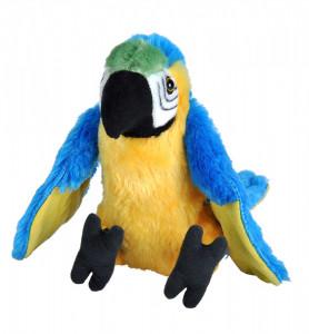 Papagal Macaw Albastru - Jucarie Plus Wild Republic 20 cm