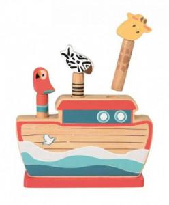 Pop up jucarie motorica Arca lui Noe