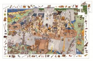 Puzzle observatie Djeco Fortareata