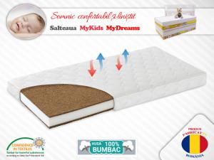 Saltea Fibra Cocos MyKids MyDreams II 127x63x12 (cm)