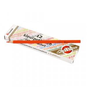 Set 12 creioane colorate Goldline 3.7 mm Rosu deschis - Heutink