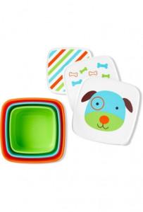Skip Hop Set 3 cutii pentru pranz Zoo - Catel