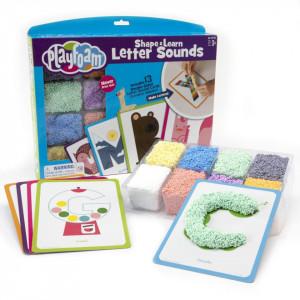 Spuma de modelat - Invatam alfabetul