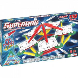 SUPERMAG CLASSIC PRIMARY - SET CONSTRUCTIE 120 PIESE