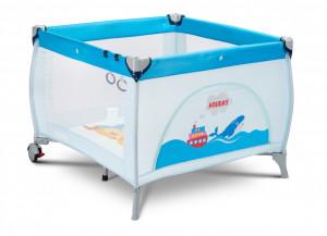 Tarc de joaca Caretero HOLIDAY 100x100cm Blue