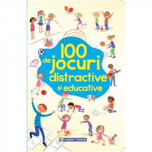 100 de jocuri distractive si educative - Carte povesti pentru copii