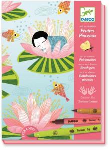 Atelier creativ pentru copii de colorat cu carioca Nymphea