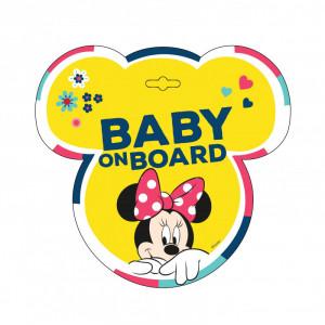 Baby la bord - Stiker Disney Minnie Seven