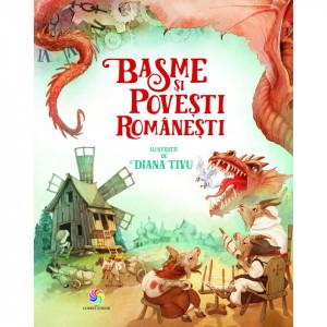 Basme si povesti romanesti 2017 - Carte povesti pentru copii