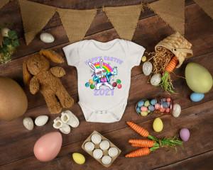 Body Bebe Personalizat Happy Easter