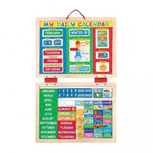 Calendar magnetic Activitatile zilnice - Melissa & Doug