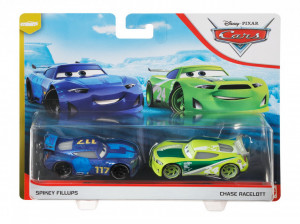 CARS3 SET 2 MASINUTE METALICE SPIKEY FILLUPS SI CHASE RACELOTT