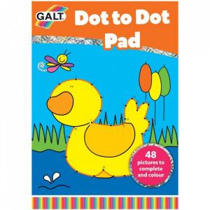 Carte de colorat Dot to Dot