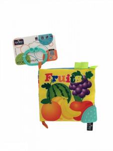 Carticica interactiva pentru bebelusi, Animale salbatice, multicolor