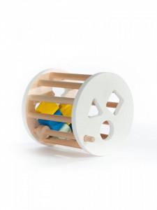 Cilindru cu forme, jucarie handmade Marc toys