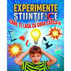 Experimente stiintifice care te lasa cu gura cascata - Carte povesti pentru copii