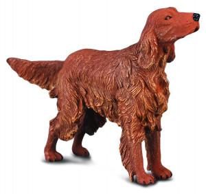 Figurina Setter irlandez roscat - Collecta