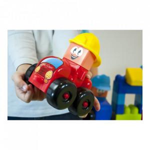 Joc constructii tematic Statie pompieri - Miniland