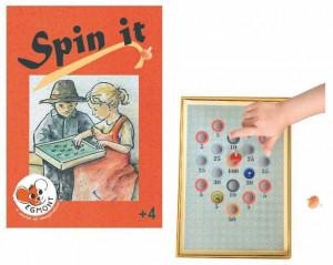 Joc cu titirezi, Spin it