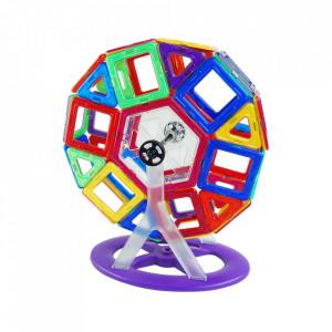 Joc de constructie magnetic - 118 piese