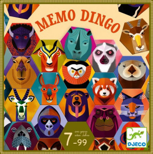 Joc de memorie pentru avansati, Memo Dingo Djeco