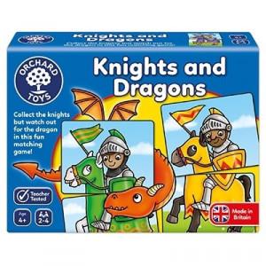Joc educativ - puzzle Cavaleri si Dragoni KNIGHTS AND DRAGONS