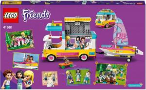 LEGO FRIENDS FURGONETA DE CAMPING SI BARCA CU PANZE 41681