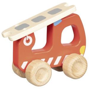 Masina de pompieri - Jucarie din lemn pentru joc de rol
