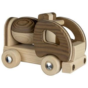 Micul santierist - Betoniera din lemn pentru copii