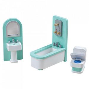 Mobilier baie pentru casuta papusii