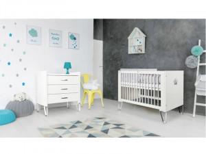 Mobilier Camera copii Si Bebelusi KLUPS BLANKA Alb