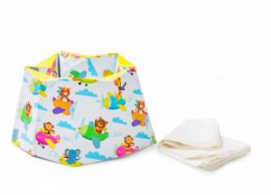 Olita pliabila/portabila pentru calatorie BabyJem Carton Travel Potty