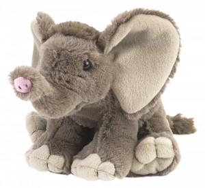 Pui de Elefant African - Jucarie Plus Wild Republic 20 cm