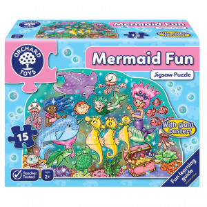 Puzzle de podea Distractia Sirenelor MERMAID FUN PUZZLE