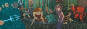 Puzzle Djeco Mitologie