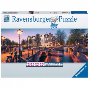 PUZZLE NOAPTEA IN AMSTERDAM, 1000 PIESE