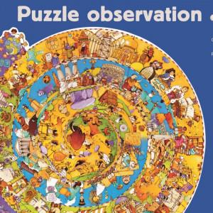 Puzzle observatie Djeco - Evolutie