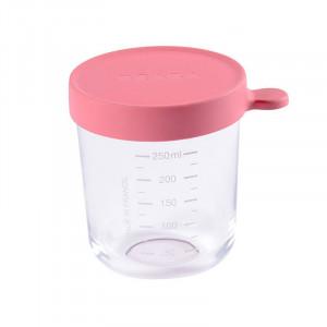 Recipient ermetic sticla 250ml roz