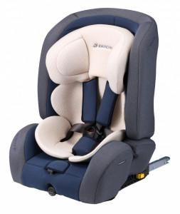 Scaun Auto D-Guard Toddler Organic Gray Fix-N, Daiichi