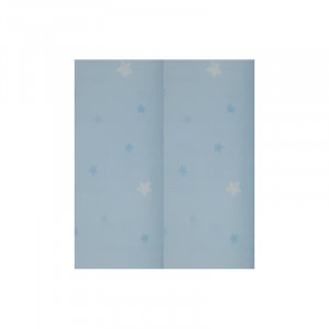 Scutece din muselina 2/set Blue star Kreis