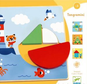 Tangramini, joc educativ Djeco