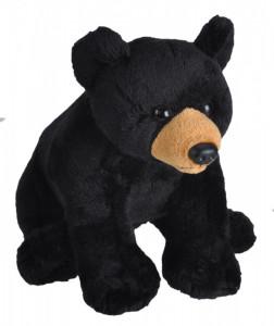 Urs Negru - Jucarie Plus Wild Republic cu Sunet