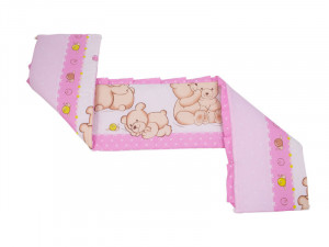 Aparatoare Laterala MyKids Teddy Friends Roz M1 140x70