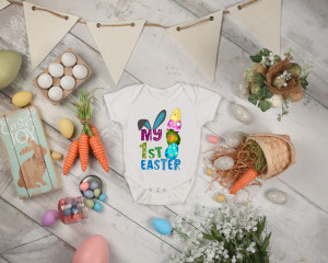 Body Bebe Personalizat My first Easter 1