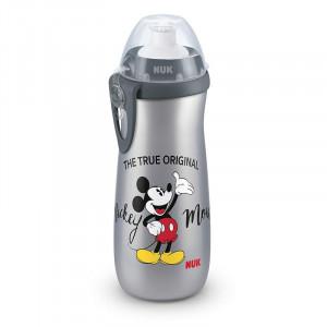Cana Nuk Sport Mickey Gri 450 Ml + Adaptor Push-Pull