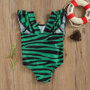 Costum de baie Leopard/Peste