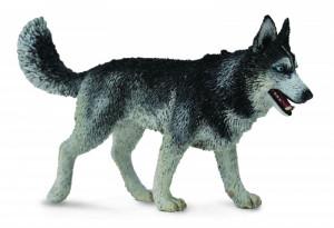 Figurina Caine Husky Siberian L Collecta