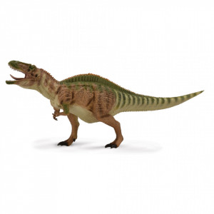 Figurina dinozaur Acrocanthosaurus pictata manual scara 1:40 Deluxe Collecta