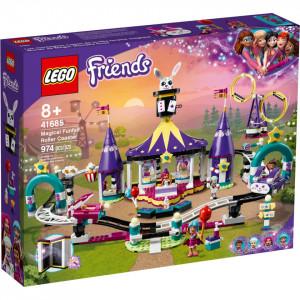 LEGO FRIENDS MONTAGNE RUSSE MAGIC IN PARCUL DE DISTRACTII 41685